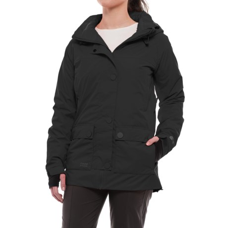PWDER Room Rotation PrimaLoft® Ski Jacket - Waterproof, Insulated (For Women) in Black
