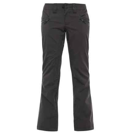 PWDR Room Launch Ski Pants - Waterproof (For Women) in Black - Closeouts