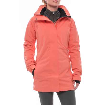 PWDR Room Plateau PrimaLoft® Ski Jacket - Waterproof, Insulated (For Women) in Melon - Closeouts