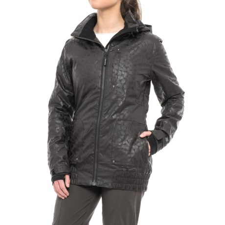 PWDR Room Relay PrimaLoft® Ski Jacket - Waterproof, Insulated (For Women) in Black