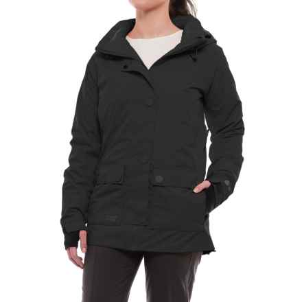 PWDR Room Rotation PrimaLoft® Ski Jacket - Waterproof, Insulated (For Women) in Black - Closeouts