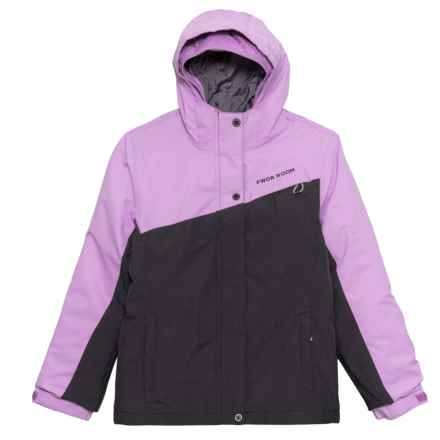 PWDR Room Sheer Lilac Paris 3-in-1 Jacket - Insulated (For Big Girls) in Sheer Lilac - Closeouts