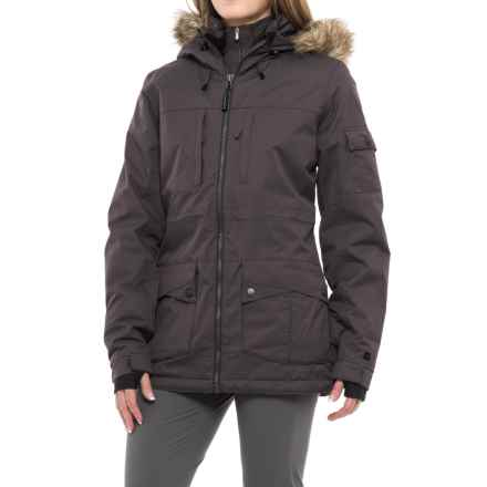 PWDR Room Signature PrimaLoft® Ski Jacket - Waterproof, Insulated (For Women) in Black - Closeouts