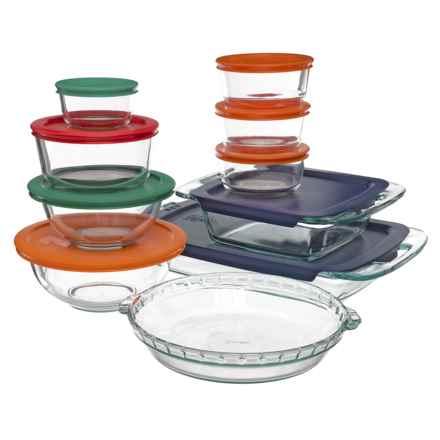 Pyrex Bake, Prep n' Store Dish Set - 19-Piece in Multi - Closeouts