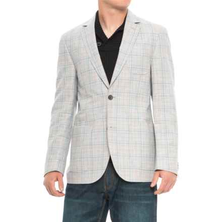 Q by Flynt Babbit Sport Coat (For Men) in Tan/Grey - Closeouts