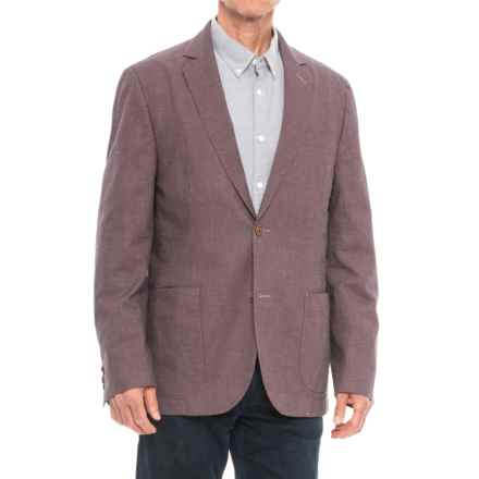 Q by Flynt Bueller Nantucket Red Sport Coat (For Men) in Nantucket Red - Closeouts