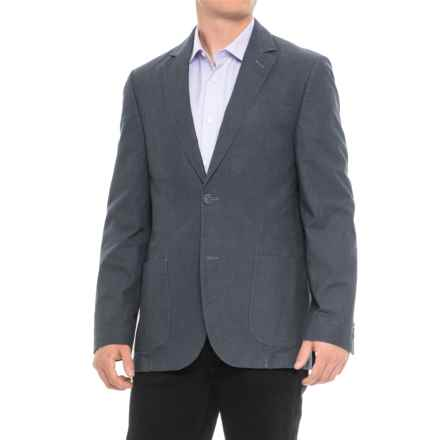 Q by Flynt Bueller Sport Coat (For Men) in Blue - Closeouts