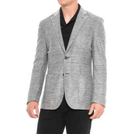 Q by Flynt Draper Sports Coat (For Men) in Black/White - Closeouts
