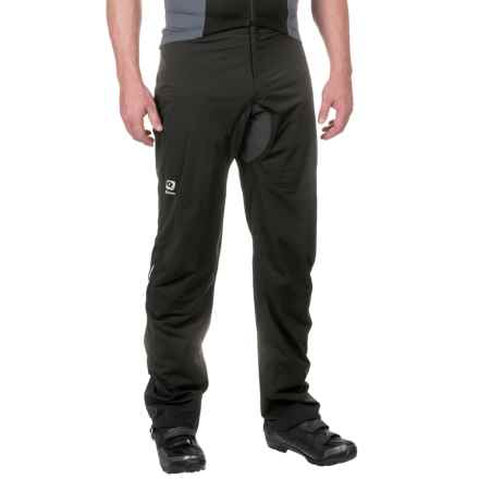 Qloom Brighton Rain Proof Pants - Waterproof (For Men and Women) in Black - Closeouts