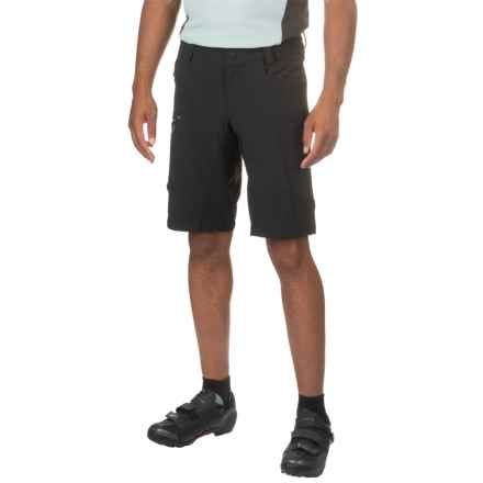 Qloom Busselton Cycling Shorts - Removable Liner (For Men) in Black - Closeouts