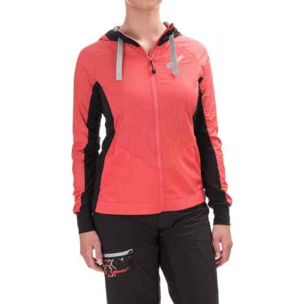 Qloom Whiteheaven Cycling Jacket (For Women) in Cayenne Red - Closeouts