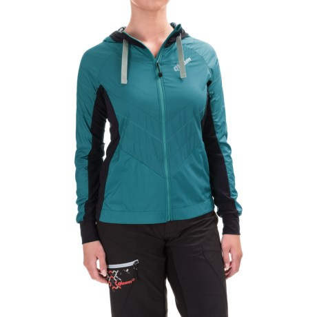 Qloom Whiteheaven Cycling Jacket (For Women) in Ink Blue