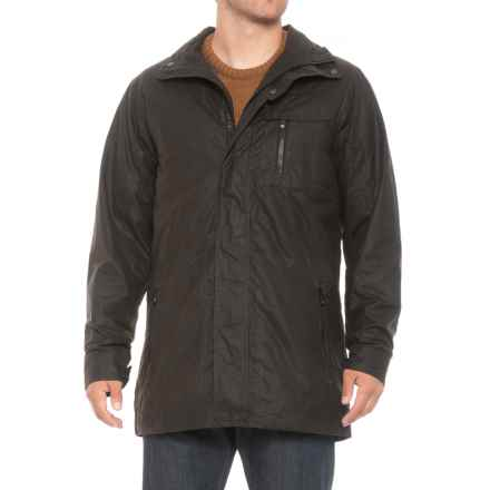 QOR Polartec® Alpha® Waxed-Cotton Jacket - Insulated (For Men) in Dark Olive - Closeouts