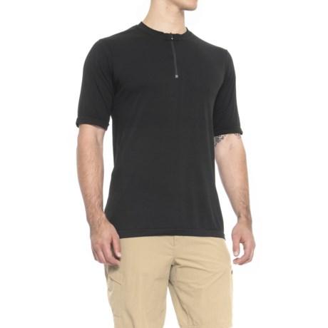 QOR Tec Seamless V2 Shirt - Short Sleeve (For Men) in Black