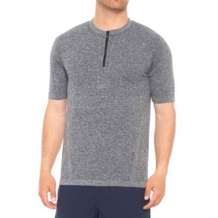 QOR Tec Seamless V2 Shirt - Short Sleeve (For Men) in Grey Heather - Closeouts