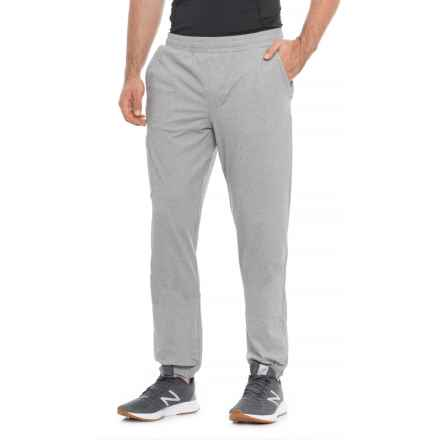 QOR Tec Stretch Gym Pants (For Men) in Grey Heather - Closeouts