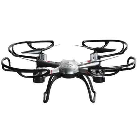Quadrone Sparrow Drone in Silver - Closeouts