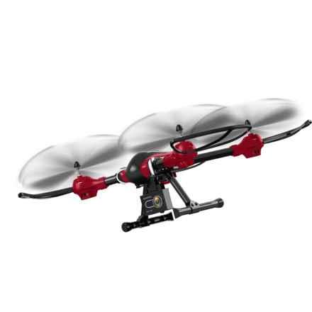 Quadrone Warrior Drone in Red/Black - Closeouts