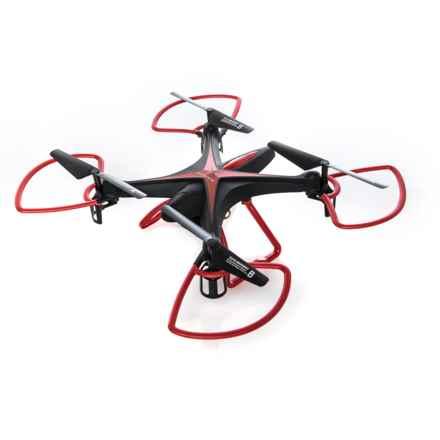 Quadrone X-HD Quadcopter Drone in Black - Closeouts