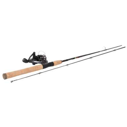 Quantum NX24 Spinning Rod and Reel Combo - 2-Piece, Cork Handle in See Photo - Closeouts