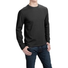 Quick Dry T-Shirt - Long Sleeve (For Men) in Black - 2nds