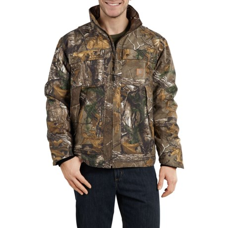 Quick Duck(R) Rain Defender(R) Camo Traditional Jacket - Insulated (For Big and Tall Men) thumbnail