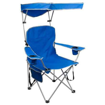 Quik Shade Chair 2.6 Folding Armchair in Royal Blue - Closeouts
