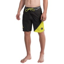 Quiksilver AG47 New Wave Bonded Boardshorts - Recycled Materials (For Men) in Grey Charcoal - Closeouts