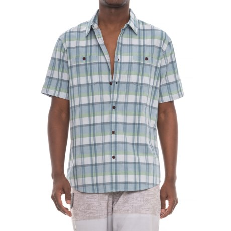 Quiksilver Ample Time Shirt - Short Sleeve (For Men) in Plein Air Ample Time
