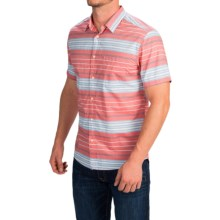 Quiksilver Barath Island Shirt - Short Sleeve (For Men) in Baked Apple - Closeouts
