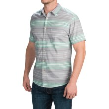 Quiksilver Barath Island Shirt - Short Sleeve (For Men) in Steeple Grey - Closeouts