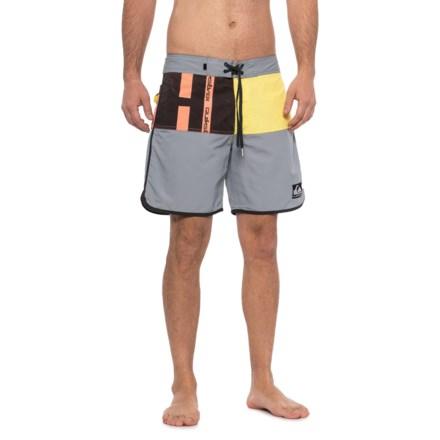 "c0963edf6d Quiksilver Beach Daze Scallop Boardshorts - 18"" (For Men) in Sleet -  Closeouts"
