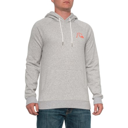1d0e53ce Quiksilver Big Logo Hoodie (For Men) in Athletic Heather