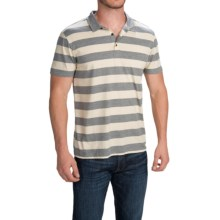Quiksilver Brigg Polo Shirt - Short Sleeve (For Men) in Anthracite - Closeouts
