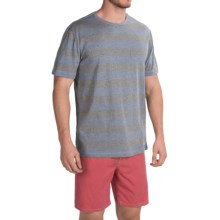 Quiksilver Brigg T-Shirt - Short Sleeve (For Men) in Dark Denim - Closeouts