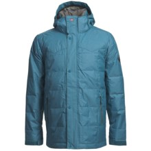 Quiksilver Caiman Down Jacket - 240 Fill Power (For Men) in Bluestone - Closeouts