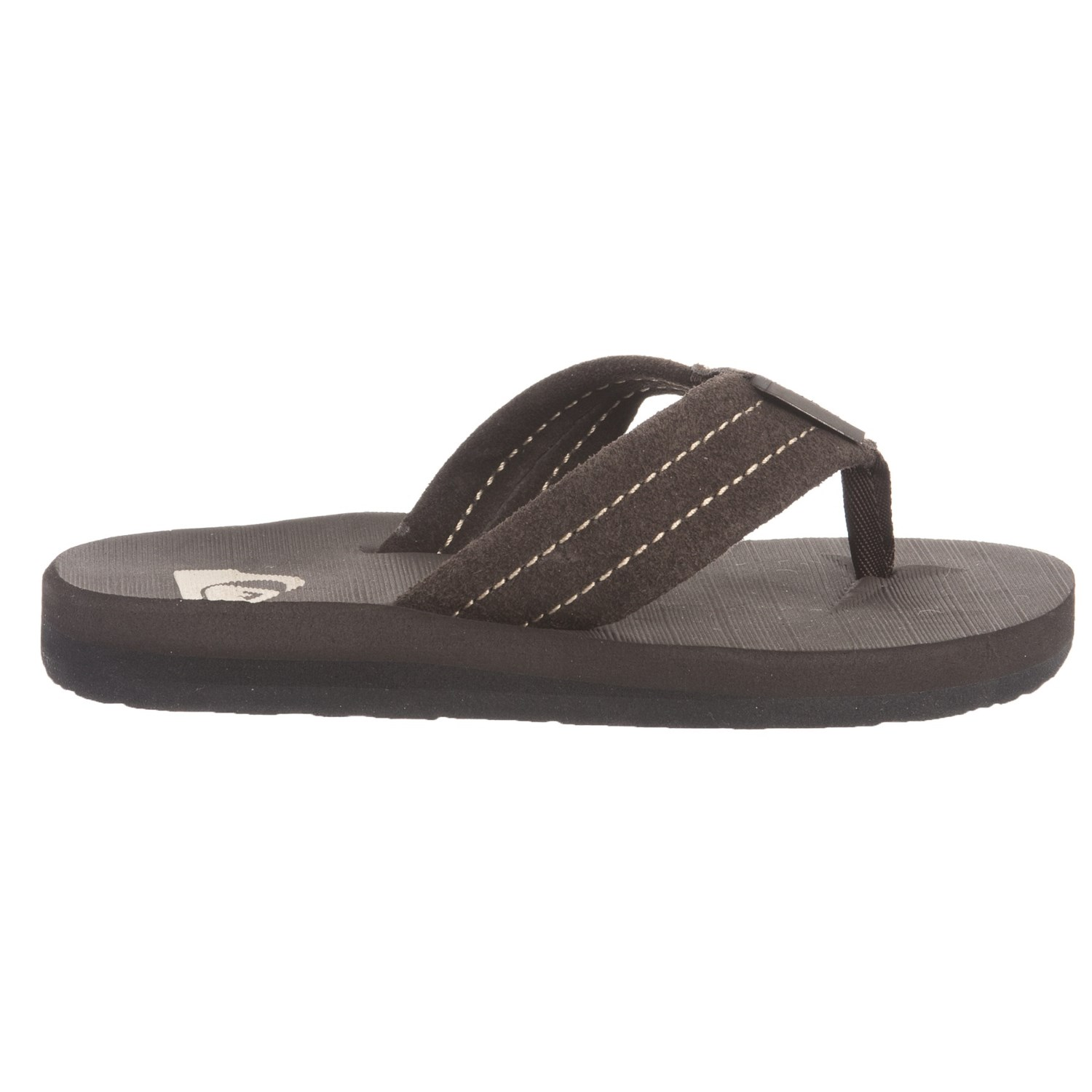 1699eedc539f Quiksilver Carver Flip-Flops (For Boys) - Save 50%