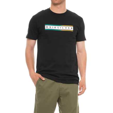 Quiksilver Daily Surf T-Shirt - Short Sleeve (For Men) in Black - Closeouts