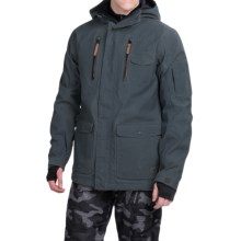 Quiksilver Dark and Stormy Ski Jacket - Waterproof, Insulated (For Men) in Dark Denim - Closeouts