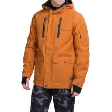 Quiksilver Dark and Stormy Ski Jacket - Waterproof, Insulated (For Men) in Pumpkin Spice - Closeouts
