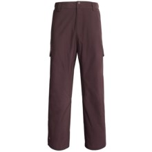 Quiksilver Drill Shell Snow Pants (For Men) in Burgundy - Closeouts