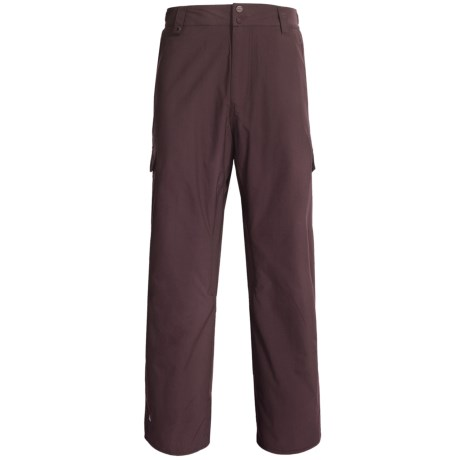 Quiksilver Drill Shell Snow Pants (For Men) in Burgundy