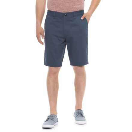 Quiksilver Everyday Chino Shorts (For Men) in Blue Grey - Closeouts