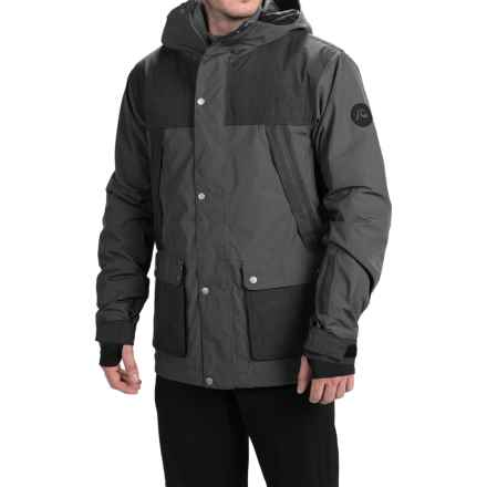 Quiksilver Fact Ski Jacket - Waterproof, Insulated (For Men) in Iron Gate - Closeouts