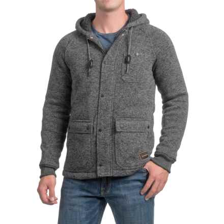 Quiksilver Frozen Over Zip-Up Hoodie (For Men) in Tarmac Heather - Closeouts