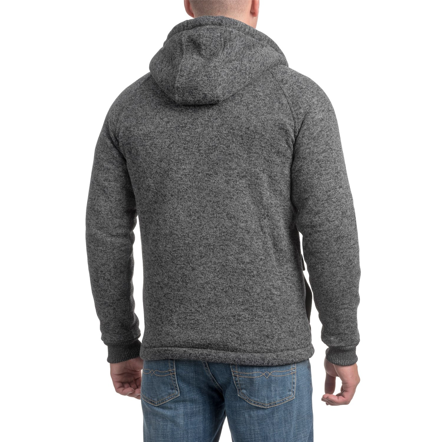 Quiksilver Frozen Over Zip-Up Hoodie (For Men) - Save 77%