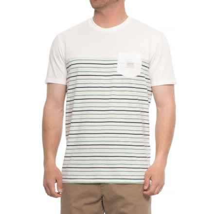Quiksilver Full Tide T-Shirt - Short Sleeve (For Men) in White - Closeouts