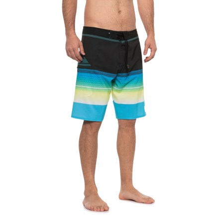 """c626a19643 Quiksilver Highline Slab Boardshorts - 20"""" (For Men) in Cyan Blue -  Closeouts"""