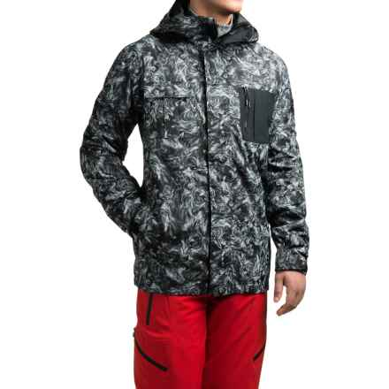 Quiksilver Illusion Shell Snowboard Jacket - Waterproof (For Men) in Angry Lion - Closeouts