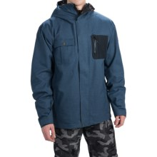 Quiksilver Illusion Shell Snowboard Jacket - Waterproof (For Men) in Dark Denim - Closeouts